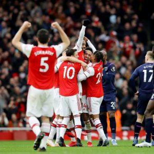 Hasil Liga Inggris Arsenal vs West Ham Skor 1-0, Lacazette Selamatkan Arsenal