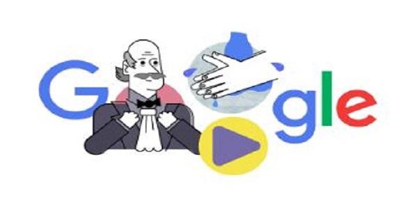 Google Doodle Ignaz Semmelweis