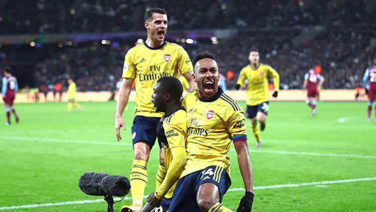 Jadwal Liga Inggris & Prediksi Arsenal vs West Ham United, Teruskan Trend Positif !