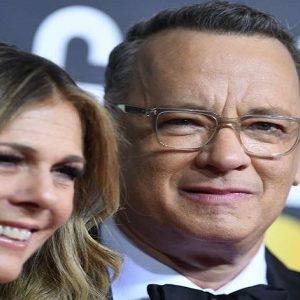 Tom Hanks dan istrinya Rita Wilson dinyatakan positif virus korona. (Valerie Macon/Afp Via Getty Images/The Washington Post)