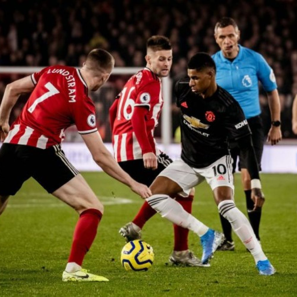 3 Link Live Streaming MENGALIR Manchester United vs Sheffield United, Kick Off 00.00 WIB