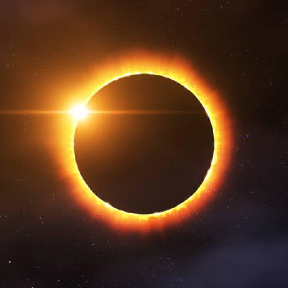 Gerhana matahari cincin (Foto: iStock)