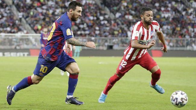 Prediksi Barcelona vs Atletico Madrid Liga Spanyol 2020, Simeone Tak Peduli Masalah Messi