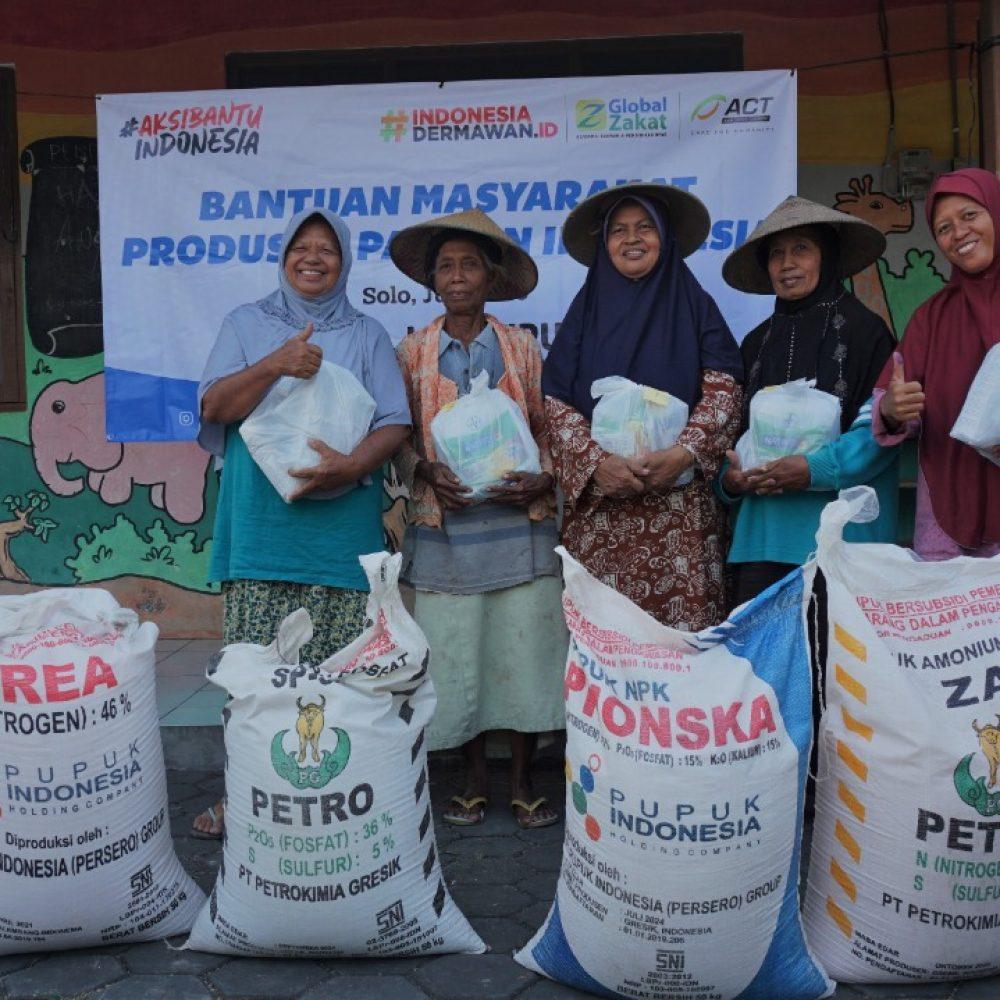 ACT Solo Perkuat Sektor Pangan Melalui Program Masyarakat Produsen Pangan Indonesia