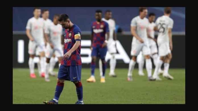 Barcelona Kalah Telak vs Bayern Munchen 8-2, Siapa Yang Bertanggung Jawab ?