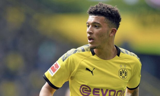 Bursa Transfer Pemain 2020 Selangkah Lagi Jadon Sancho Gabung Manchester United