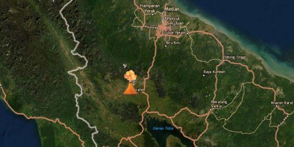 Erupsi Gunung Sinabung (PVMBG)
