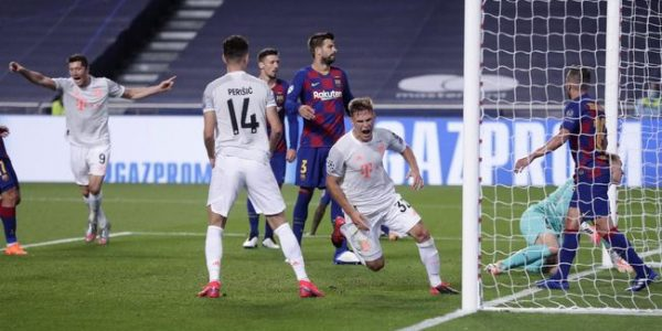Link Live Streaming Bayern Munchen vs Olympique Lyon Semifinal Liga Champions 2020