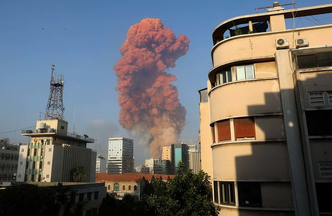 Video Amatir Detik-Detik Ledakan di Beirut, Ibu Kota Lebanon