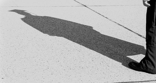 Ilustrasi bayangan (Foto: Google)