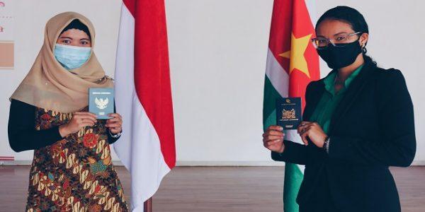 Pemerintah Suriname kini telah resmi memberlakukan bebas visa bagi warga Negara Indonesia (WNI). (Foto: kemlu.go.id)