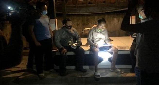 Polisi melakukan penangkapan terhadap Ignatius Michael alias Michael Tirta (Foto: TribrataNews)