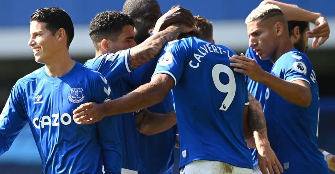 Hasil Liga Inggris 2020: Everton Bungkam West Brom 5-2, James Rodriguez Cetak Goal Debut