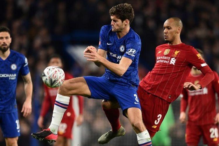 Link Live Online Streaming Chelsea vs Liverpool Selain Mola TV