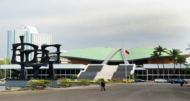Gedung DPR RI (Foto: postel.go.id)