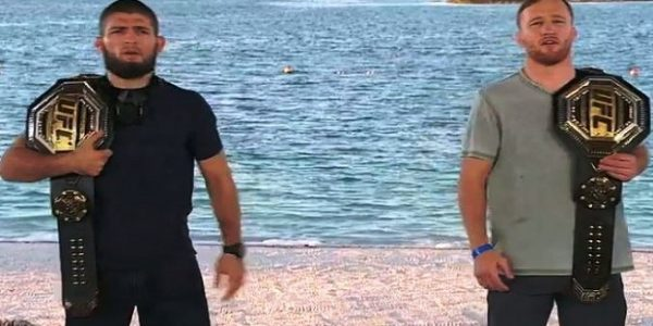 Khabib Nurmagomedov dan Justin Gaethje