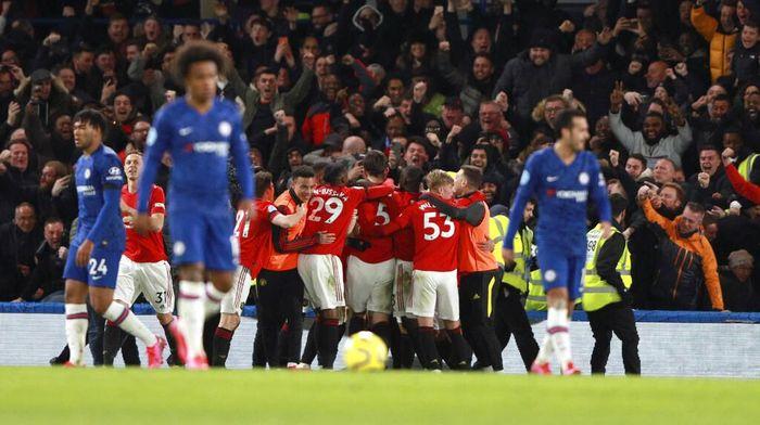 Link Live Online Streaming Manchester United vs Chelsea & Prediksi, via Twitter Pukul 23.30 WIB