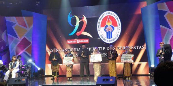 Kementerian Pemuda dan Olahraga Republik Indonesia (Kemenpora RI) menggelar acara Pemilihan Pasangan Muda Inspiratif dan Berprestasi tahun 2020 (Dok. Istimewa/kemenpora.go.id)