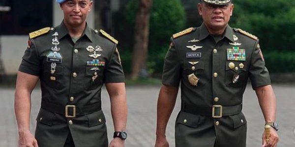 Jenderal TNI (Purn) Gatot Nurmantyo (kanan). (Foto: Instagram-@nurmantyo_gatot)