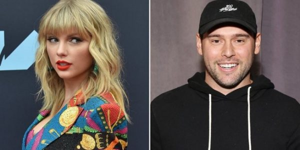 Taylor Swift dan Scooter Braun (Foto: BBC/Getty Images)