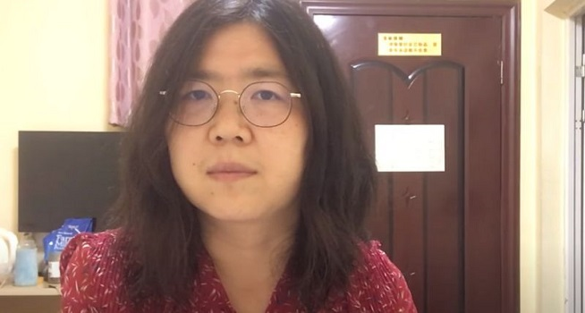 Zhang Zhan yang meliput wabah virus corona (Covid-19) di Wuhan harus menghadapi hukuman lima tahun penjara