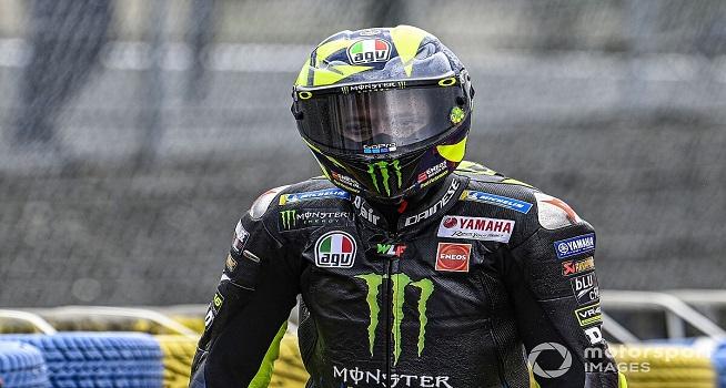 Pembalap tim Monster Energy Yamaha, Valentino Rossi (Foto: Motorsport.com)
