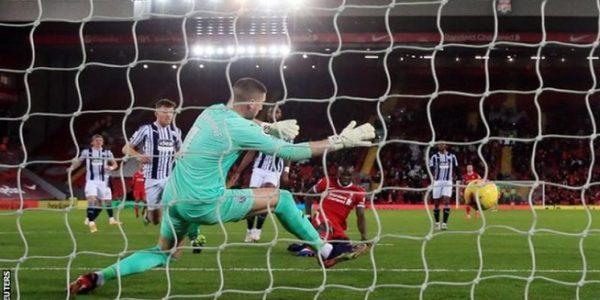 Sadio Mane mencetak gol keenamnya di Liga Premier musim 2020-2021 (Foto: BBC/Reuters)