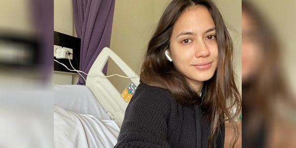 Pevita Pearce sedang menjalani isolasi mandiri akibat terpapar Covid-19 (Foto: Instagram-@pevpearce)