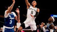 Lakers Vs Spurs dalam laga NBA 2020-2021, Jumat (8/1/2021)