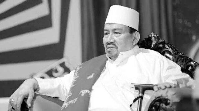 (Habib Ali bin Abdrrahman Assegaf meninggal dunia, Jumat (15/1/2021) sore di Purwakarta. Foto: twitter.com/Husen_Jafar)