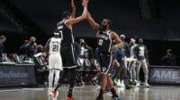 Duet maut Harden-Durant perkuat Nets, Selasa (19/1/2021). Foto: twitter.com/ESPNStatsInfo