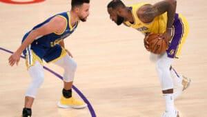 Warrior putuskan rantai kemenangan Lakers, Selasa (19/1/2021). Foto: twitter.com/ESPNStatsInfo