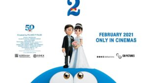 Poster film Stand By Me Doraemon 2, yang diunggah CBI Pictures, Selasa (19/1/2021). Foto: Instagram.com/cbipictures