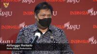 Menteri Koordinator (Menko) Perekonomian, Airlangga Hartarto (Sumber: YouTube Sekretariat Presiden)