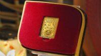 PT Aneka Tambang Tbk (ANTAM) meluncurkan produk logam mulia baru bertemakan Tahun Kerbau Logam sesuai penanggalan Cina di tahun 2572 (Dok. Istimewa/bumn.go.id)
