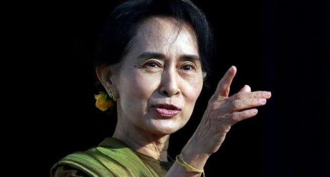Pemimpin Partai Liga Nasional untuk Demokrasi (NLD), Aung San Suu Kyi (Foto: BBC/Reuters)