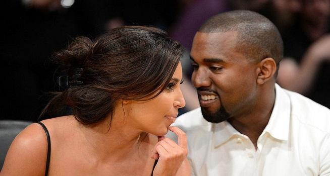 Pasangan selebritas Kim Kardashian dan Kanye West (Foto: BBC/Getty Images)