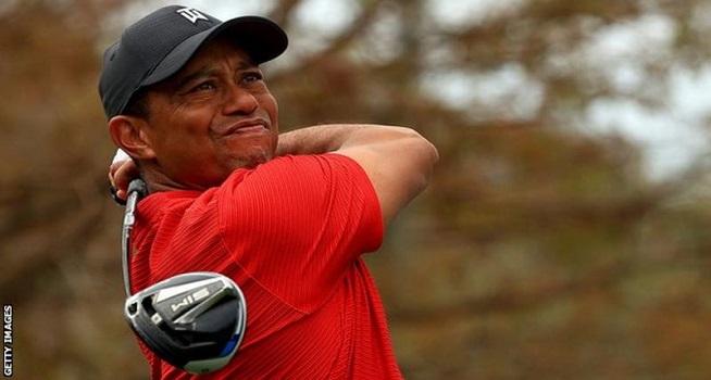 Pegolf dunia Tiger Woods (Foto: BBC/Getty Images)