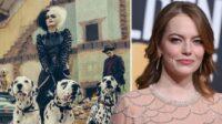 Film live action teranyar Disney Cruella, dibintangi Emma Stone sebagai versi punk-rock dari penjahat 101 Dalmatians (Foto: Metro/AP/Disney)
