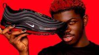 Nike menuntut perusahaan MSCHF asal Brooklyn lantaran menjual sepasang Sepatu Setan kontroversial (Foto; BBC/MSCHF)