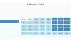 Manfaat Kalkulator Online Serbaguna