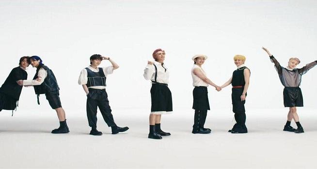 BTS merilis single berbahasa Inggris anyar mereka Butter sekaligus video musiknya, Jumat (21/05/2021). (Dok. Soompi)