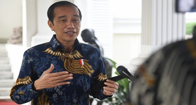 Presiden RI Joko Widodo. (Foto: BPMI Setpres/Lukas)