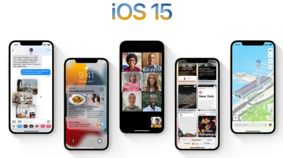 Penasaran ? Ini Dia Kecanggihan Dari iOS 15