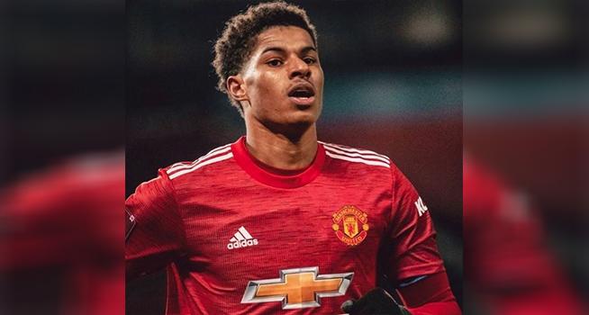 Striker Manchester United (MU) Marcus Rashford (Foto: Instagram/@marcusrashford)