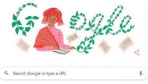 Google Doodle hari ini memajang gambar Sariamin Ismail, seorang novelis wanita pertama di Indonesia sebagai bentuk perayaan ulang tahun ke-112